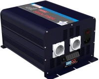 Modified Sine Wave Power Inverter With Battery Charger